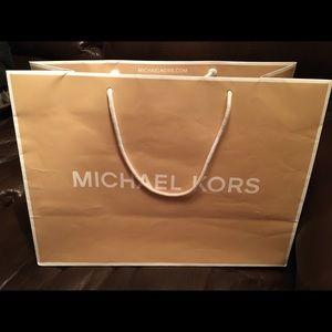 cfc0c2693133 Michael Kors Bags - Authentic Michael kors Paper bag